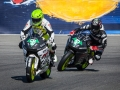 Steve and EBoz (Eric Bostrom) at Laguna Seca