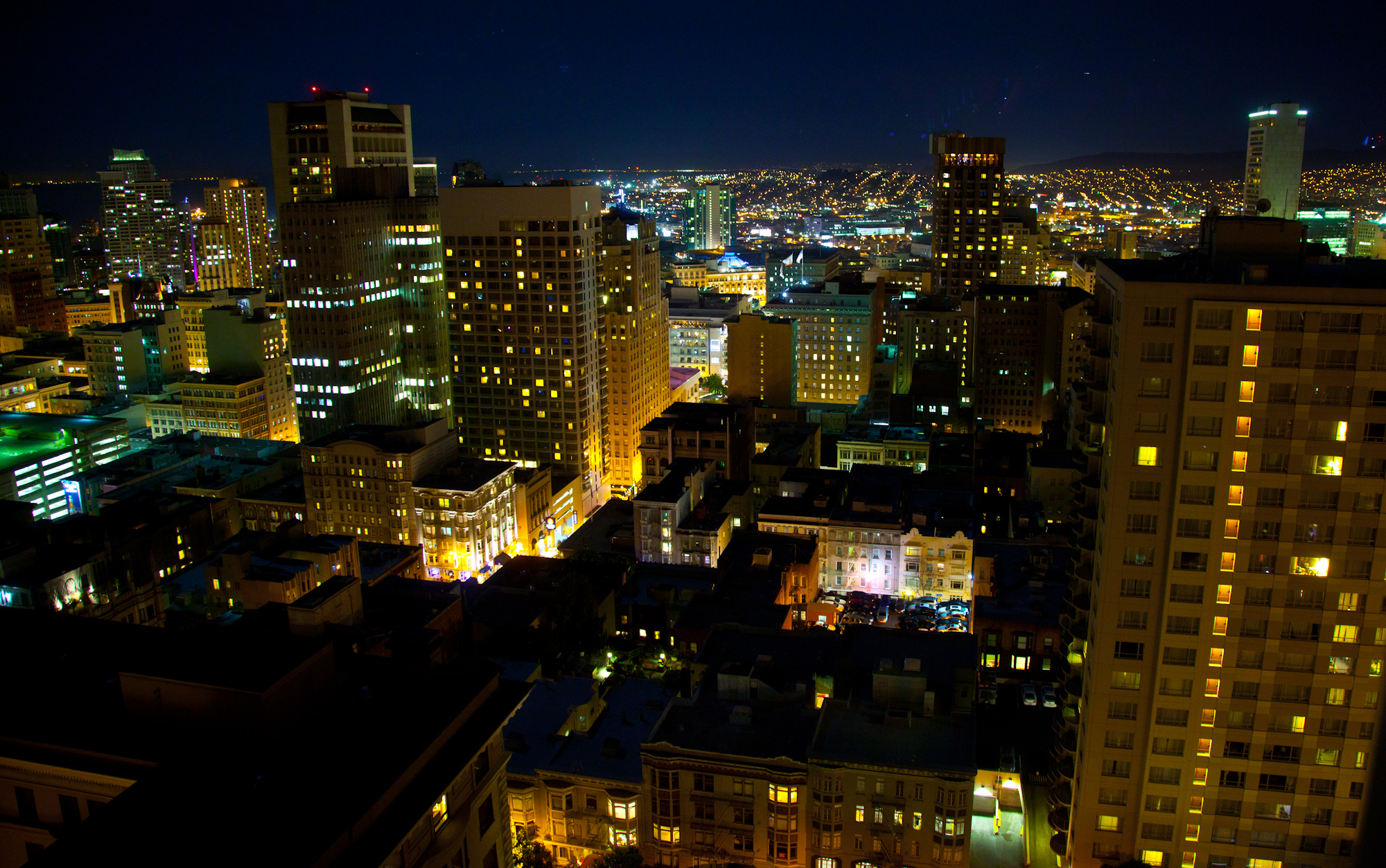 A photo (and video) shoot of the Enertia Plus took us to San Francisco... this was the view from my hotel room.